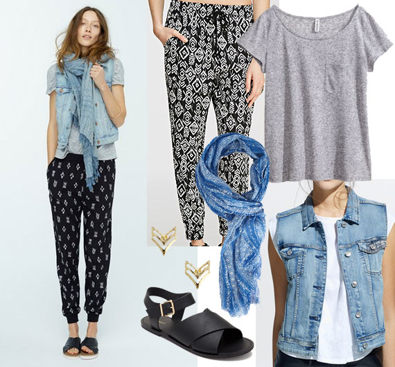 Easy Madewell spring look for less