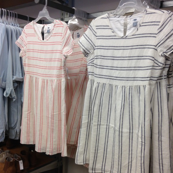 These striped day dresses feel so French!