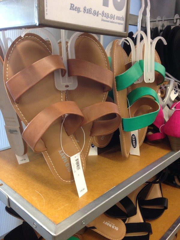 These Old Navy sandals look just like the ones at J.Crew last year!