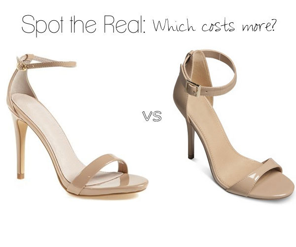 Can you guess which shoe costs more?