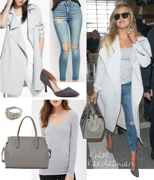 Khloe Kardashian's celebrity look for less
