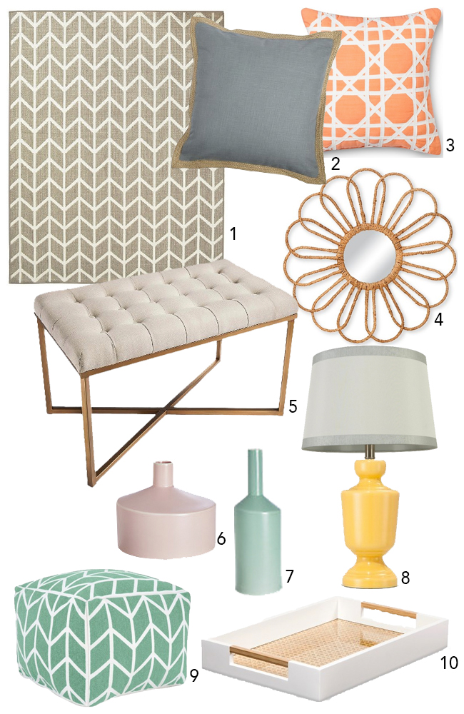 Pastel Decor on a Budget