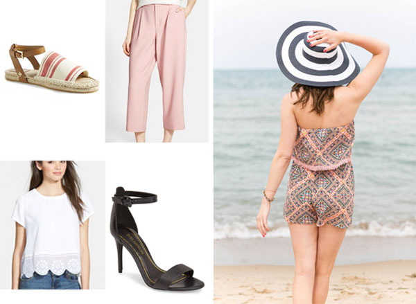 Nordstrom sale picks under $100; how to style this Target romper 3 ways
