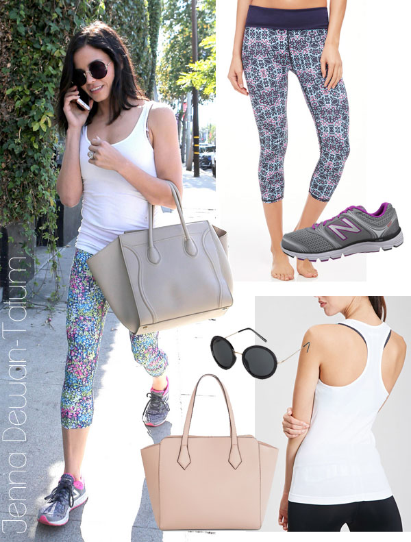 Jenna Dewan-Tatum's workout look for less