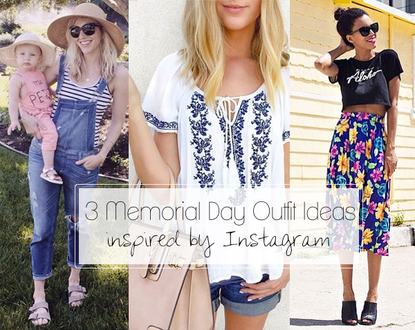 3 Memorial Day Outfit Ideas (Under $100) inspired by style bloggers on  Instagram
