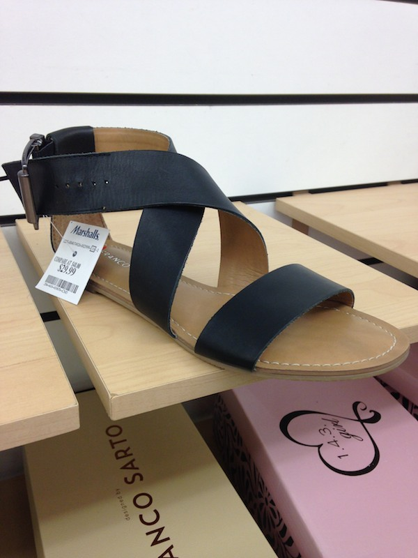 Cute sandals under $30 at Marshalls