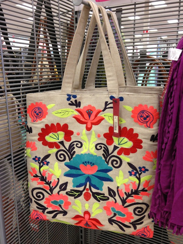 Spring accessories at Target are so cute!