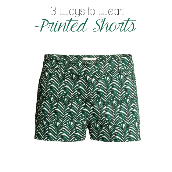 3 ways to wear printed shorts (these are just $12.95!)
