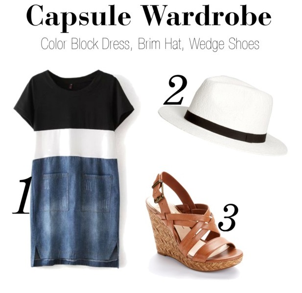 Capsule Wardrobe on a Budget: A week's worth of outfit inspiration from 3 items under $50