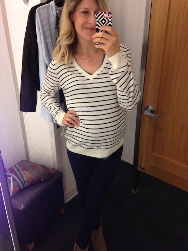 Stripe pullover by BP at the Nordstrom Anniversary Sale