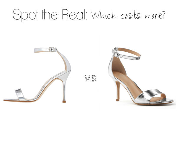 Can you guess which heels cost more?