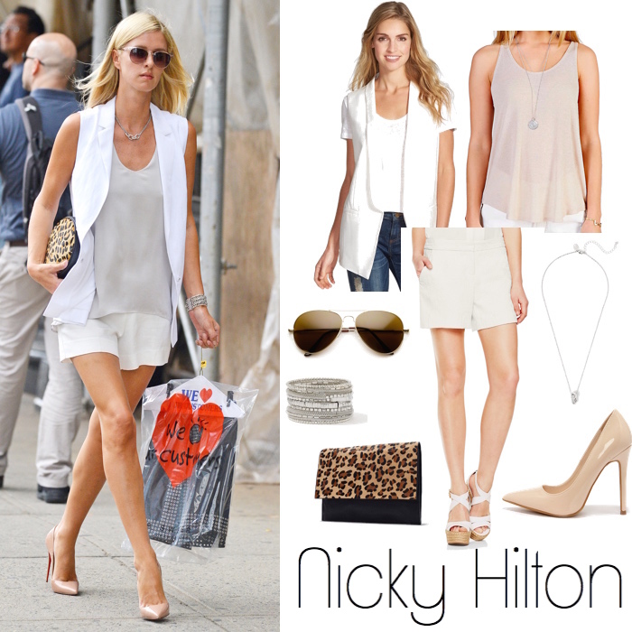 Nicky Hilton Look for Less