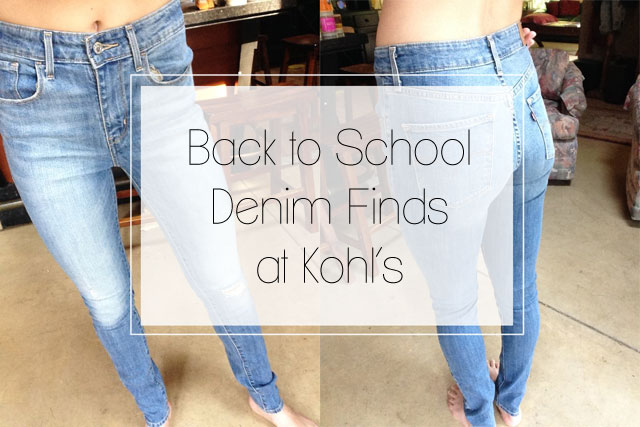 We review back-to-school denim finds at Kohl's