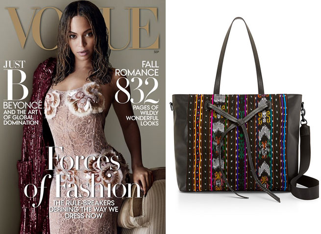 Beyonce covers Vogue; Rebecca Minkoff collaborates with The Honest Company