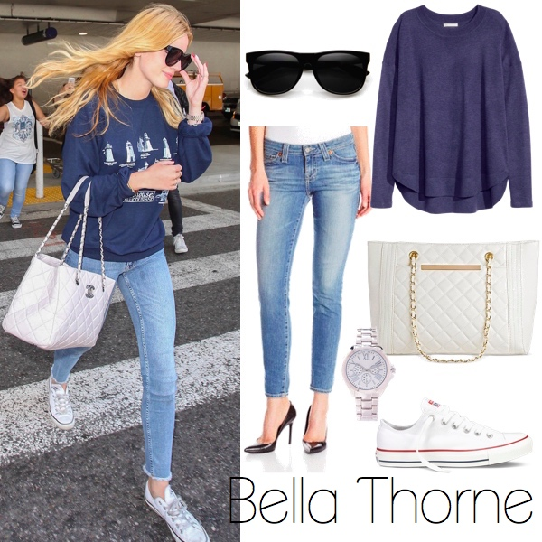 Bella Thorne Look for Less