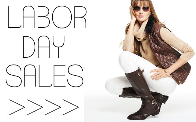 Labor Day Sales, Talbots Fall 2015 lookbook and more