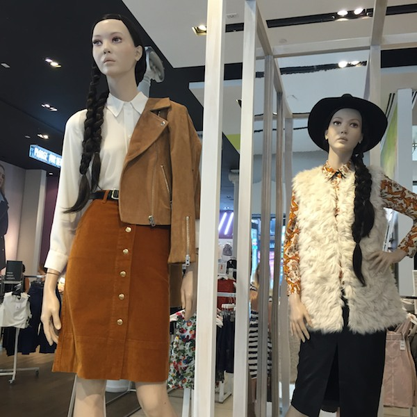 Off the Rack: In-Store Pics at Topshop New York