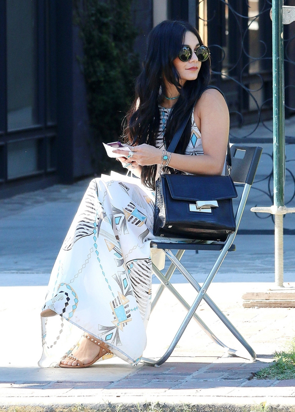 7b51a9ae9cf2 Trade In Your Boring Flip-Flops for Vanessa Hudgens  Studded.