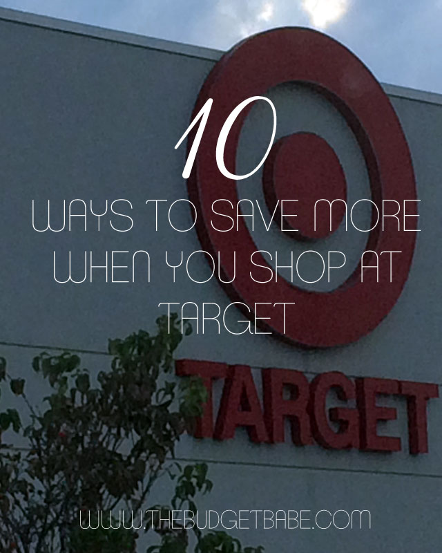 10 money-saving tips to know when you shop at Target