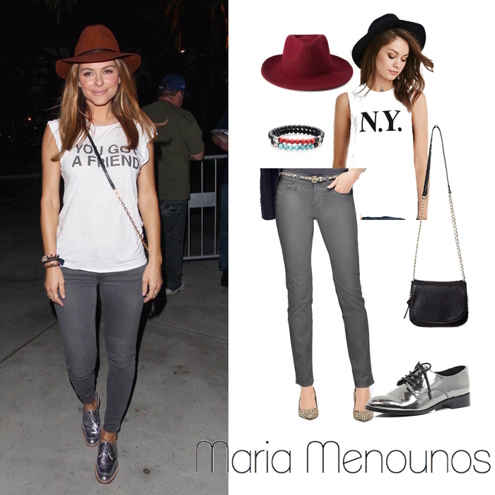 Maria Menounos Look for Less