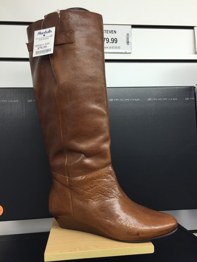the rack fall boots at marshalls see 35 in store