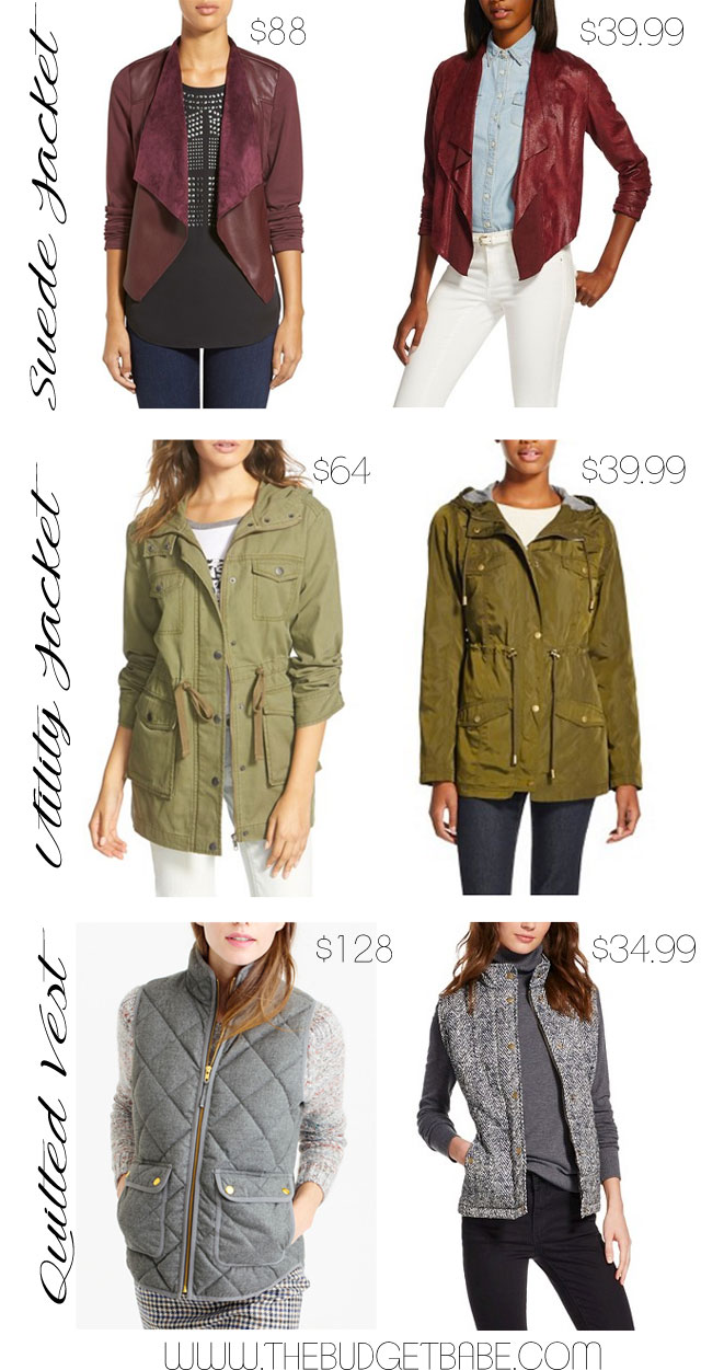 Look for Less: Fall Outerwear Essentials