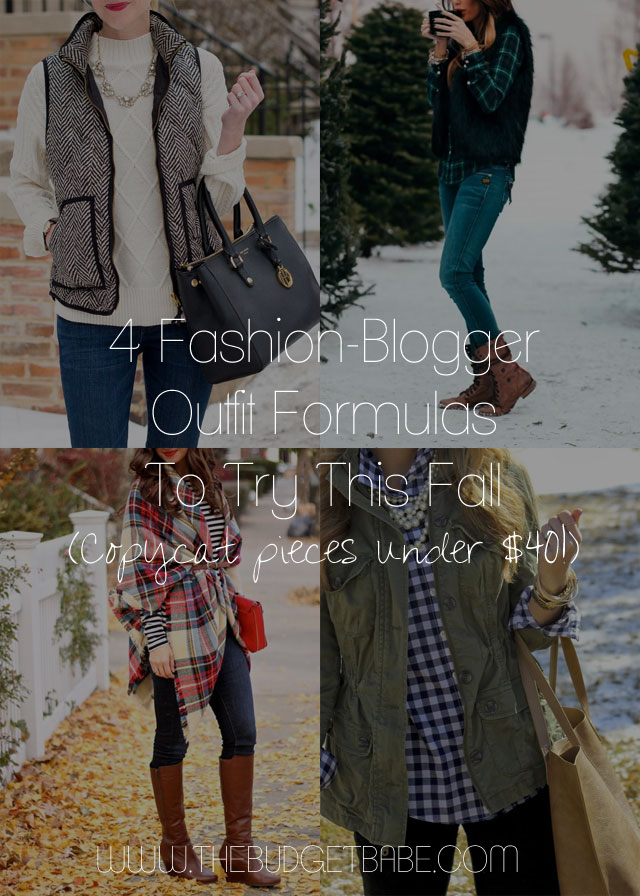 4 outfit ideas to try this fall inspired by Pinterest - nothing's over $40!