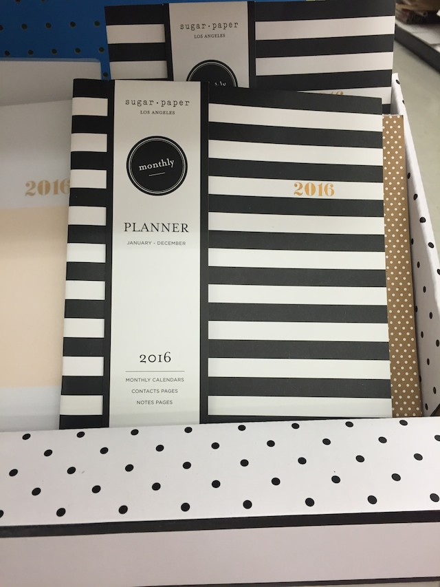Sugar Paper Los Angeles planners at Target