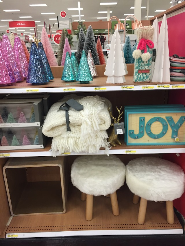amazing christmas decor now at target