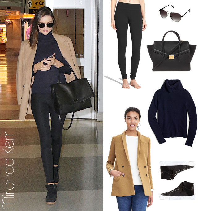 Miranda Kerr's airport style look for less