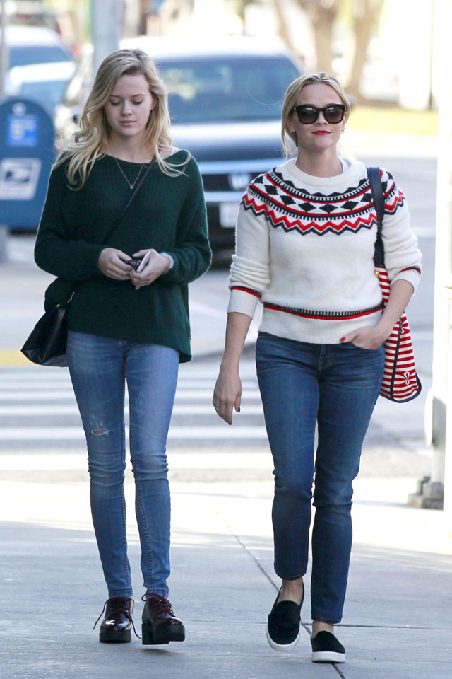 Reese Witherspoon's Fair Isle sweater look for less