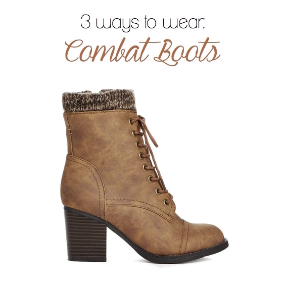 3 Ways to Wear: Combat Boots