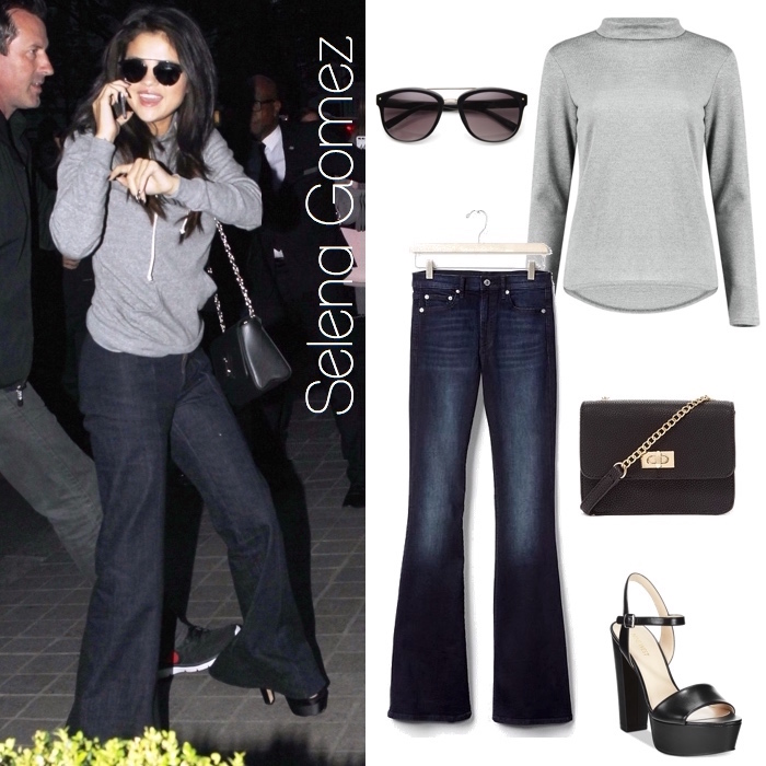 Selena Gomez Look for Less