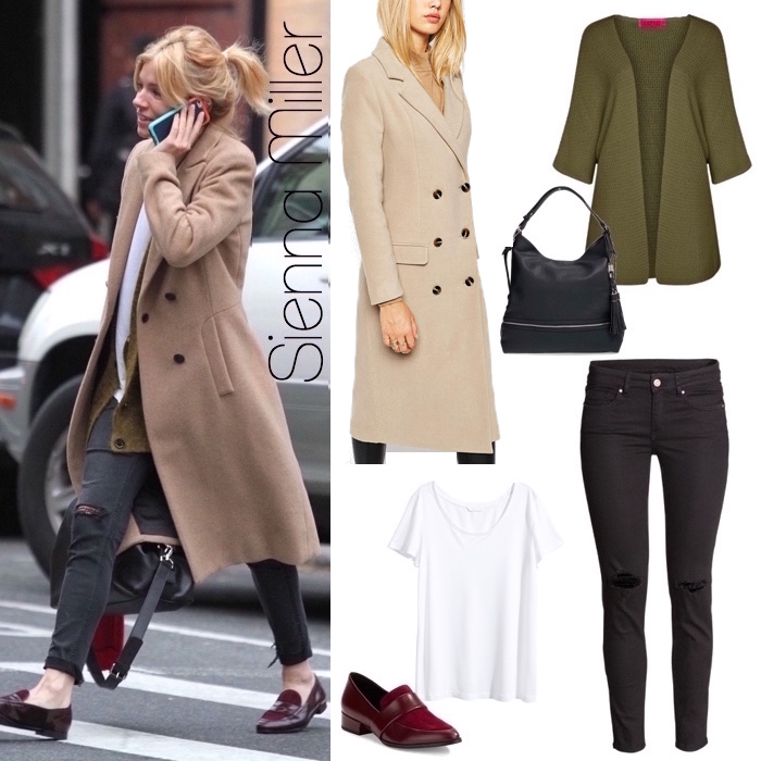 Sienna Miller Look for Less
