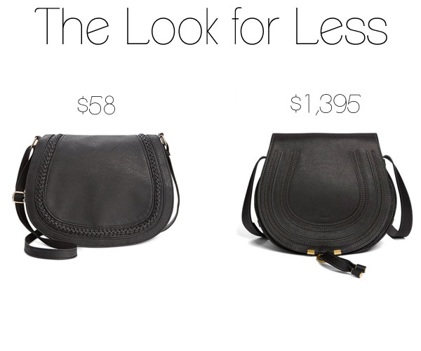 2e6bb8f009eb The Look for Less  Chloe  Marcie  Saddle Bag - The Budget Babe ...