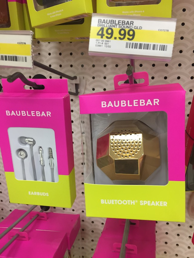 Off the Rack: BaubleBar for Target Tech Accessories - The ...