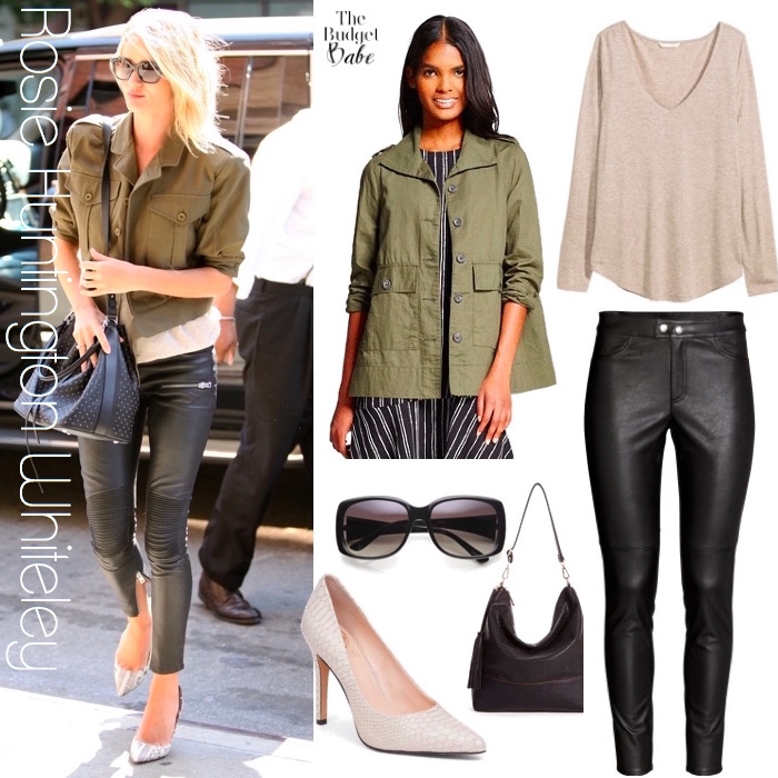 Rosie Huntington Whiteley Look for Less