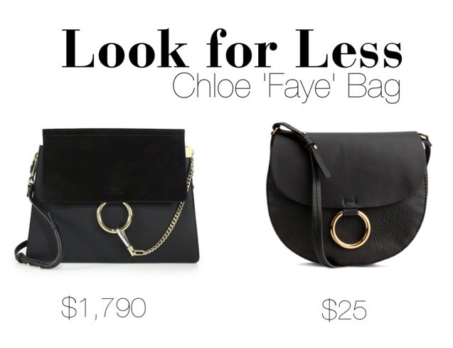 The Look for Less  Chloe  Faye  Bag - The Budget Babe  b1a90c7992562
