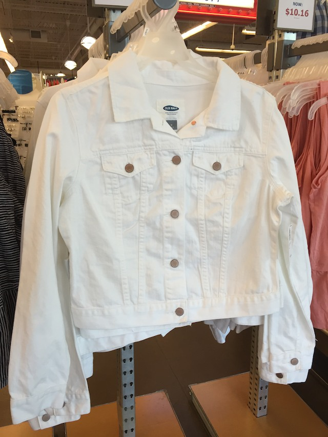 Old Navy spring fashions