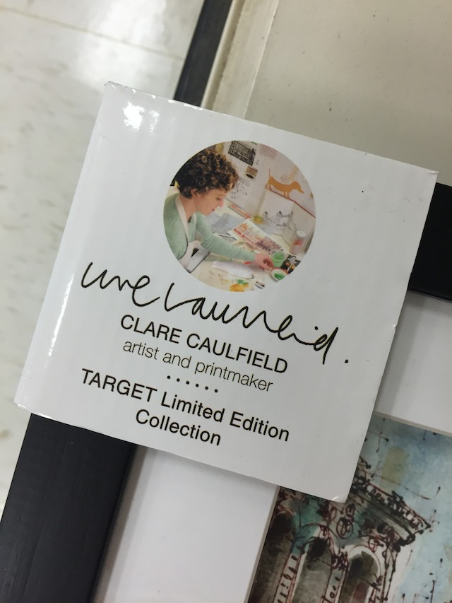 original art at Target