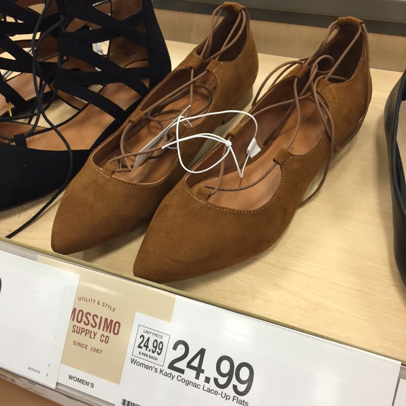 Cute spring shoes at Target
