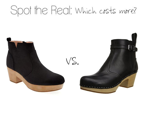 Can you guess which boots cost more?