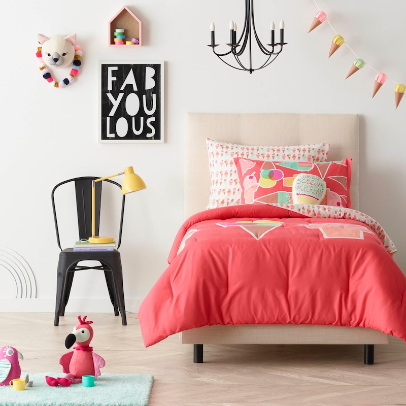 Target announces new kids d cor line pillowfort see pics the budget babe affordable Target blue home decor