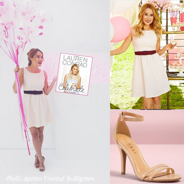 Lauren Conrad's new book! her outfit's from Kohl's under $50