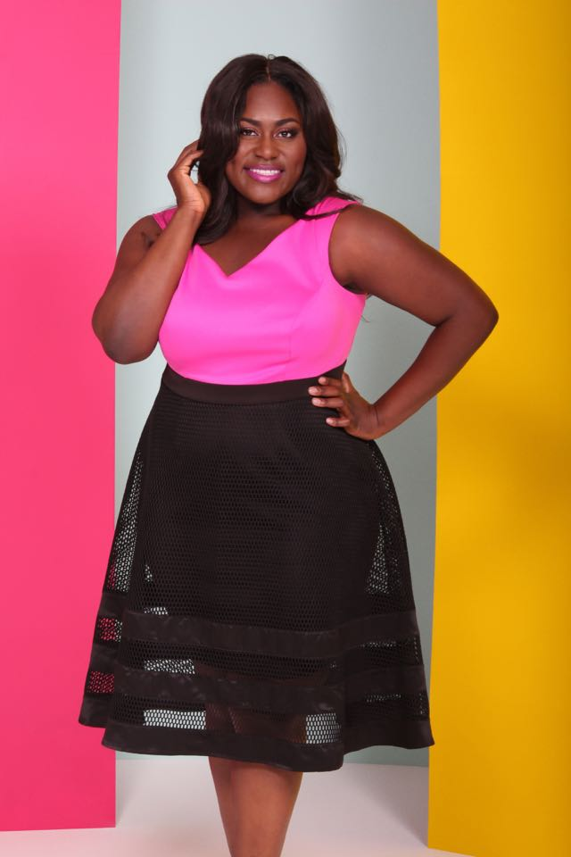 Christian Siriano for Lane Bryant Lookbook starring Danielle Brooks, star of Orange is the New Black