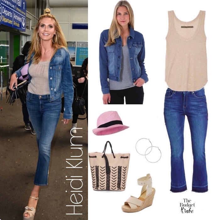 Heidi Klum Look for Less
