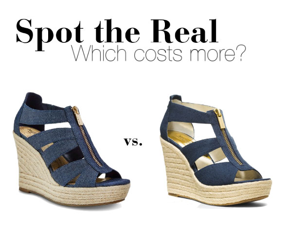 Can you guess which wedges cost more?