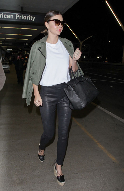 Miranda Kerr casual style for less