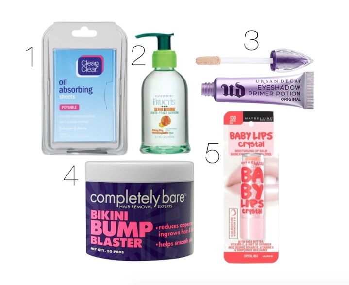 Team Budget Babe's Sophia shares her summer beauty essentials.