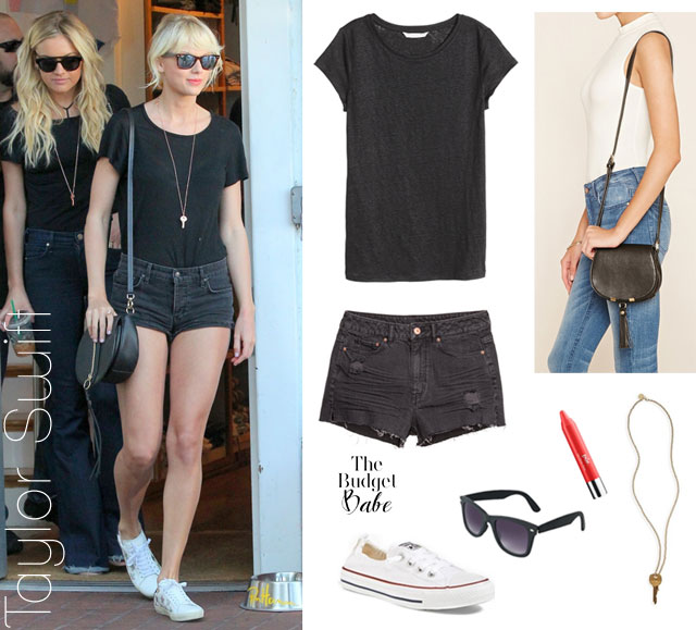 Recreate Taylor Swift's casual summer style with affordable fashion finds.